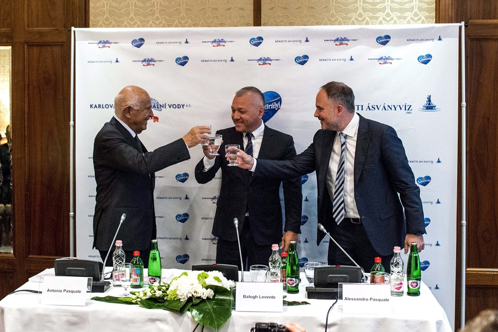 World Famous Hungarian Mineral Water Bottler Merges Into Italian Holding post's picture