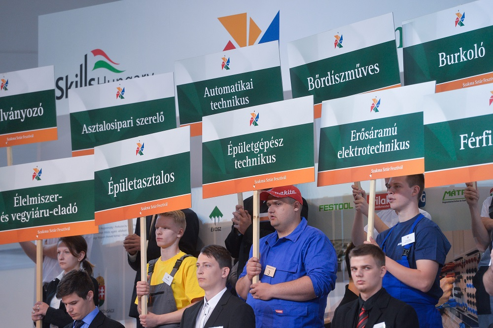 Hungary To Host EuroSkills Trade Competition Finals In 2018 post's picture