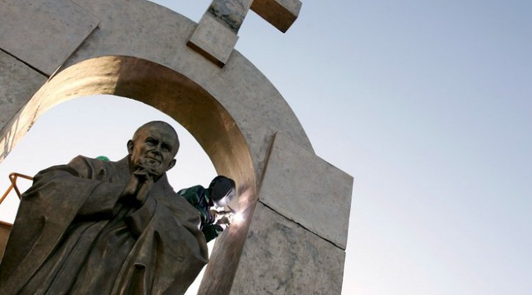 Condemned French Statue Of John Paul II Could Be Re-Erected In Budapest As Locals Raise Funds For Transportation post's picture