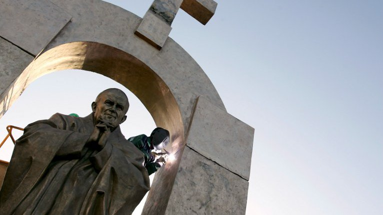 Hungarian Town Offers To Take Over Pope John Paul II Statue Condemned To Demolition In France post's picture