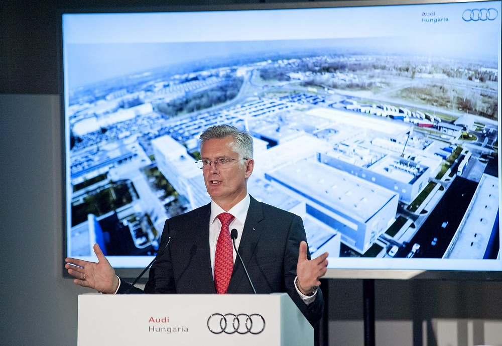 German Carmaker AUDI Opens New Engine Development Centre In Győr, Hungary post's picture