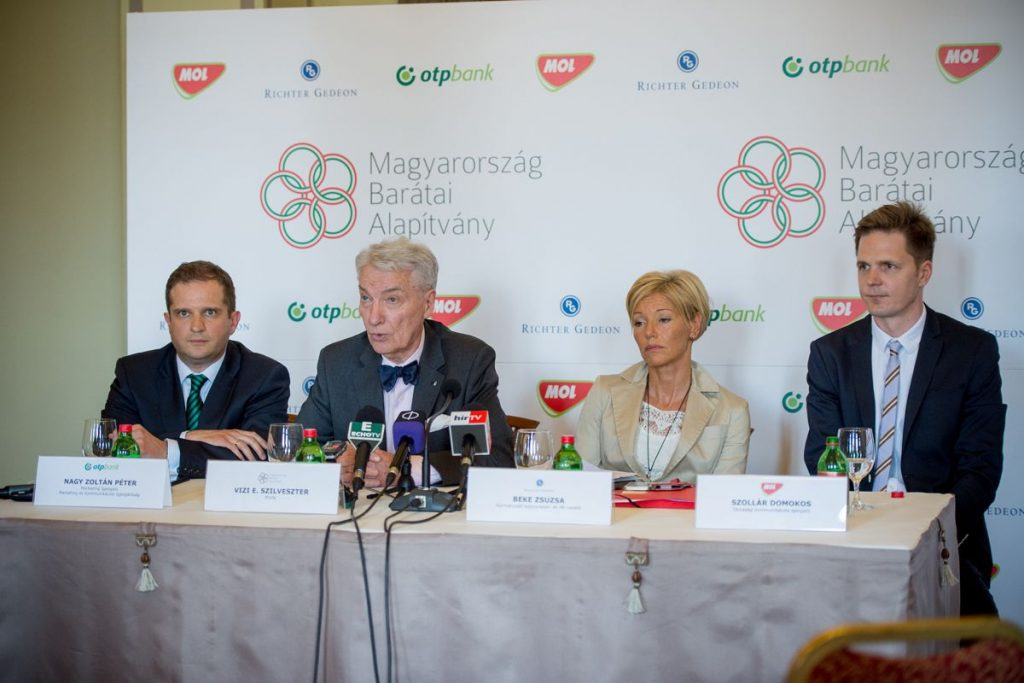 Friends Of Hungary Foundation Holds Press Event Before Second International Conference In Budapest post's picture