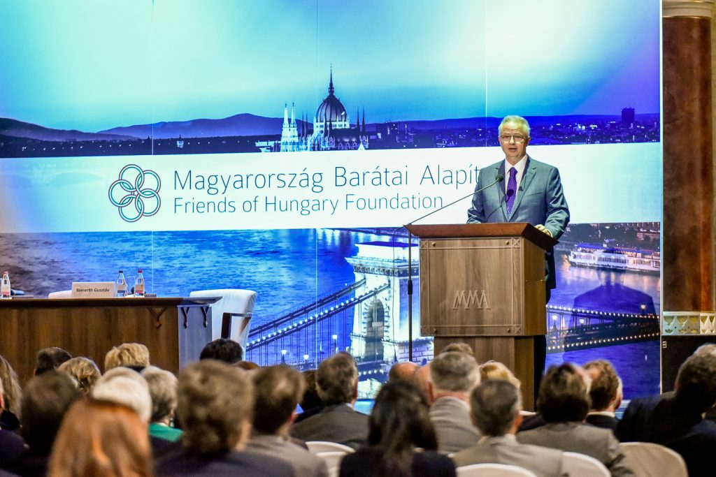 Hungary's New Fundamental Law Is Both A Memoir And A Project, Justice Minister Tells Friends Of Hungary post's picture