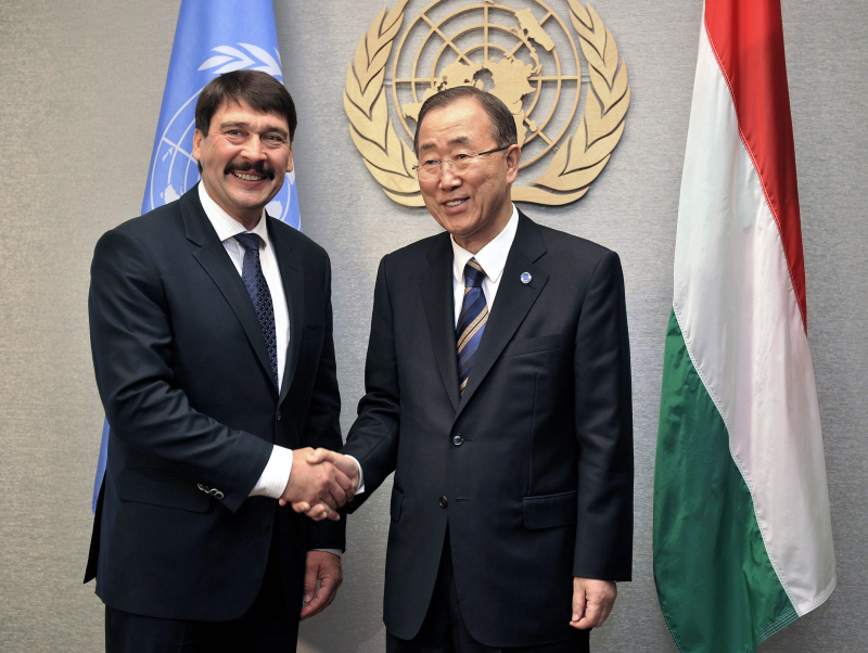 UN Secretary-General Thanks Hungary's President For Climate Change Push – Video! post's picture