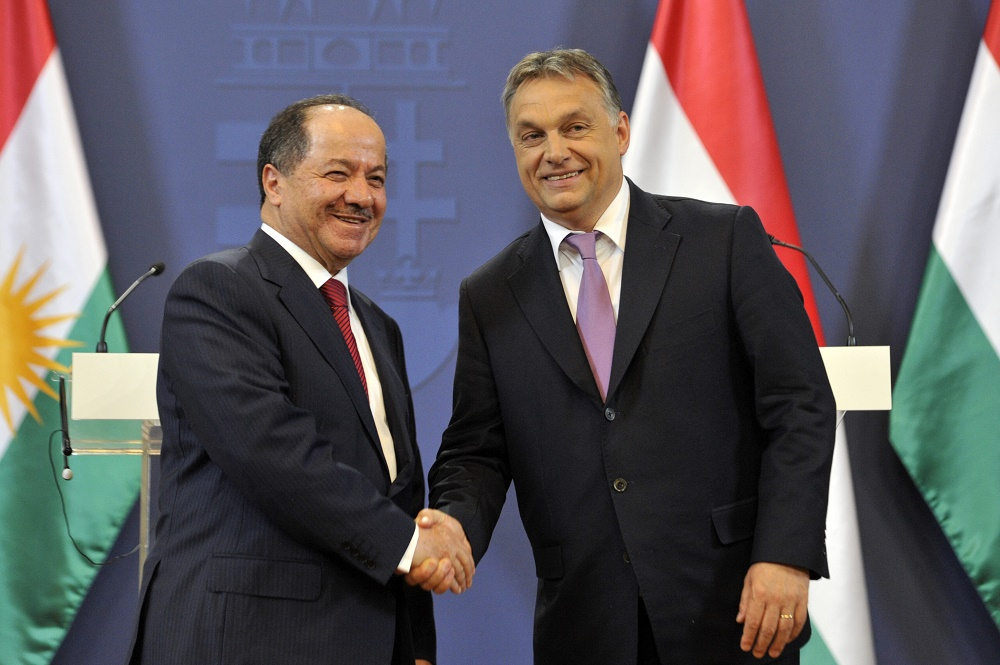 PM Orbán Hails Relations With Kurdistan As President Barzani Pays Official Visit To Hungary post's picture