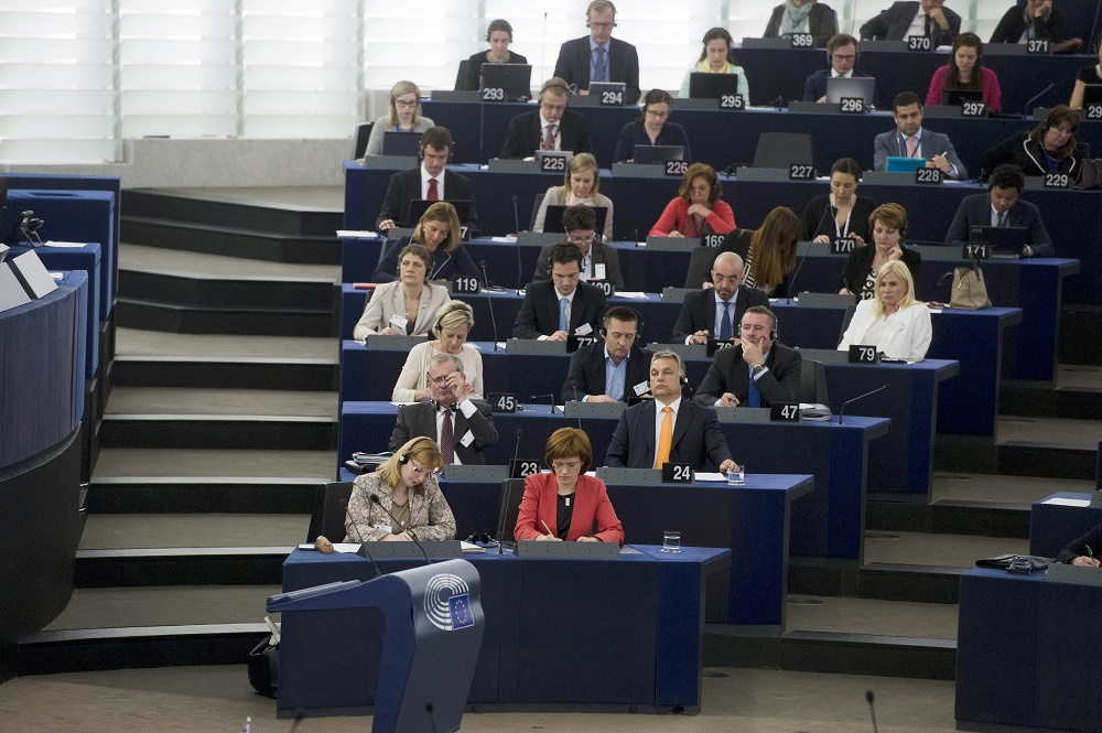 "Immigration And Death Penalty: European Parliament Holds Debate On ""Situation In Hungary"" post's picture"