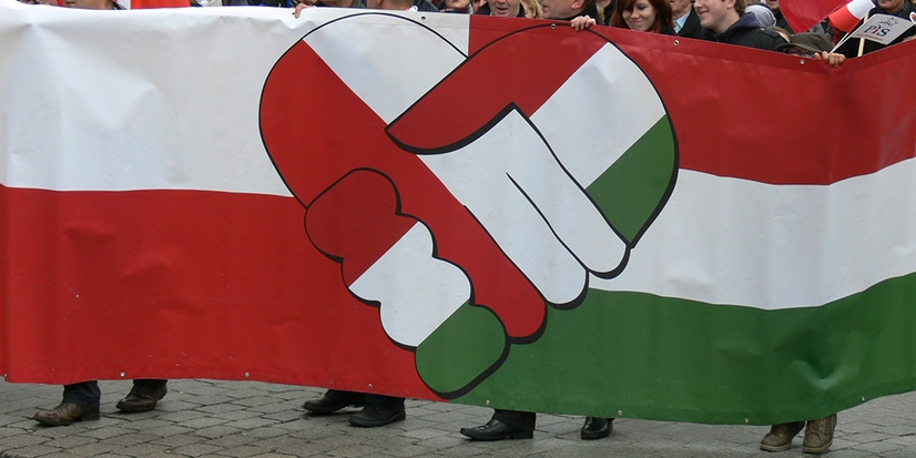 Polish-Hungarian Friendship: Polish Constitution Commemorated In Budapest post's picture