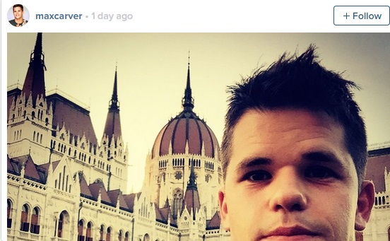 "Desperate Housewives ""Twin"" Max Carver In Budapest, Instagram Photos Reveal post's picture"