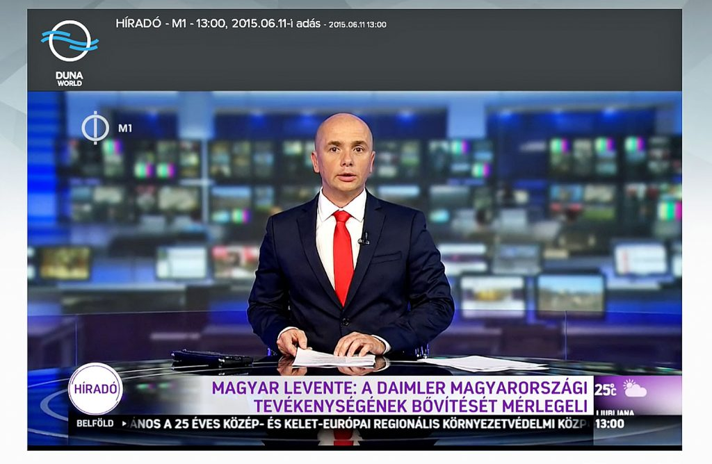 Public Media: New All-News Channel M1 Yields Disappointing Audience Figures post's picture