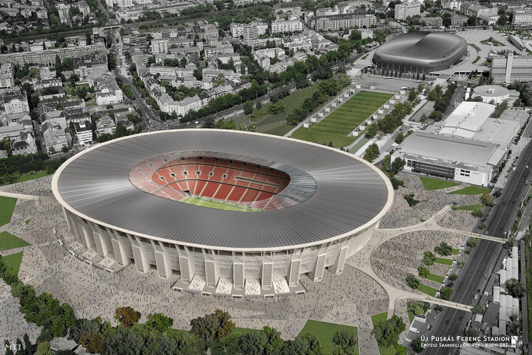 Plans For Budapest's New 65 000-Seat Football Stadium Revealed post's picture