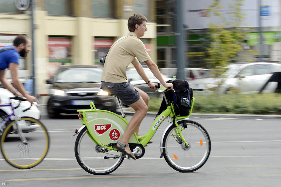 Budapest's Bike-Sharing Network BuBi Gets 20% Extension This Summer post's picture