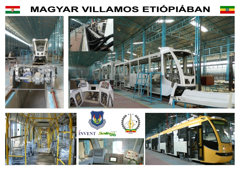 Hungarian-Designed Tram Built In Ethiopia Attracts Attention