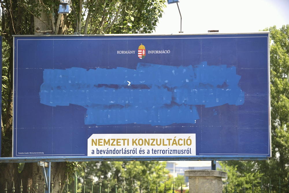 Police Detain Six Opposition Activists As Debate On Anti-Immigration Campaign Heats Up In Hungary post's picture