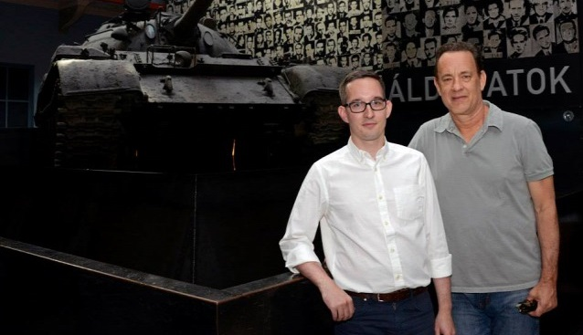 "Hollywood Star Tom Hanks Visits Budapest's ""House Of Terror"" Museum In Tribute To Victims Of Totalitarianism post's picture"