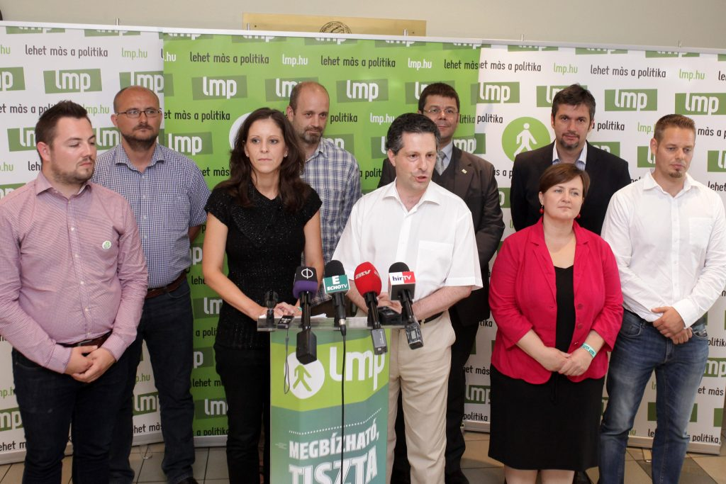 Hungary's Green Party LMP Re-Elects Leaders | Hungary Today