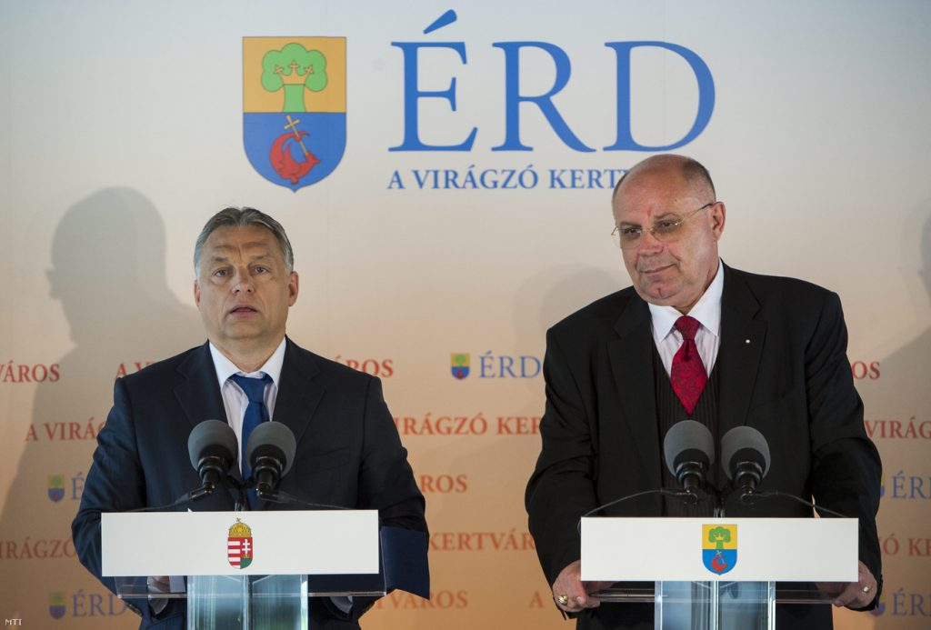 Modern Cities Programme: PM Pledges HUF 40bn To Érd, Near Budapest post's picture
