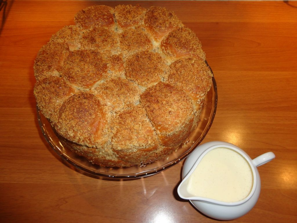 """Cook Hungarian: Golden Coffee Cake (""""Aranygaluska"""") post's picture"""