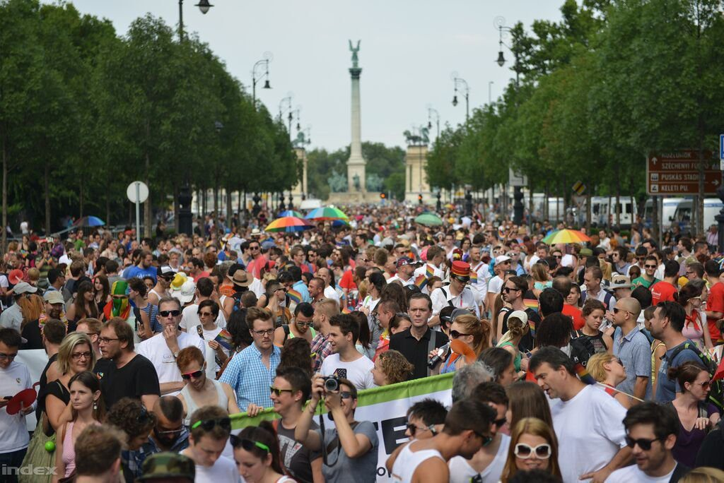 Budapest Pride: Thousands March Across Capital Calling For Acceptance Of Sexual Minorities post's picture