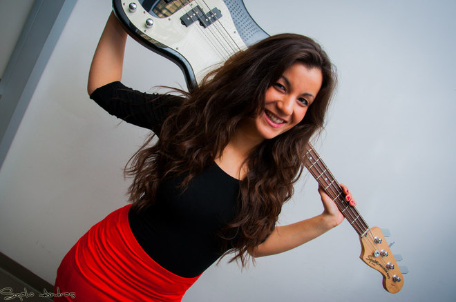 21-Year-Old Hungarian Voted World's Best Female Bass Guitarist At US Competition post's picture