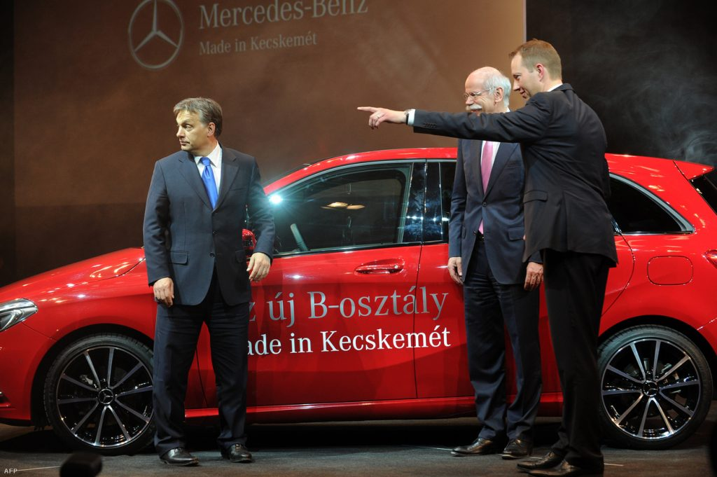 Mercedes-Benz Hungary Rakes In EUR 2.8bn In Revenue As Kecskemét Factory Produced 150 000 High-End Cars In 2014 post's picture