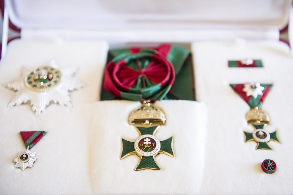 Order Of Saint Stephen: President Áder Hands Over Hungary's Highest State Decoration post's picture