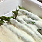"""Cook Hungarian – Asparagus With Sour Cream (""""Spárga Tejföllel"""")"""