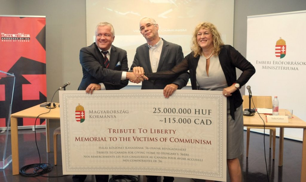 Hungary Donates To Establishment Of Canadian Memorial To The Victims Of Communism post's picture