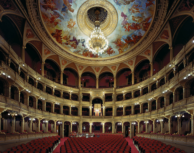 Budapest Opera Included Among The World's Forty Most Beautiful In US Photographer's Unique New ...