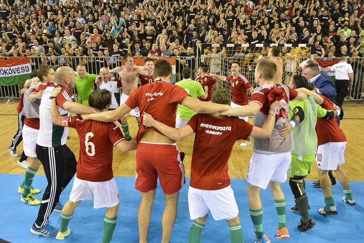 Futsal Eb - Utolsó másodperces góllal nyert és továbbjutott