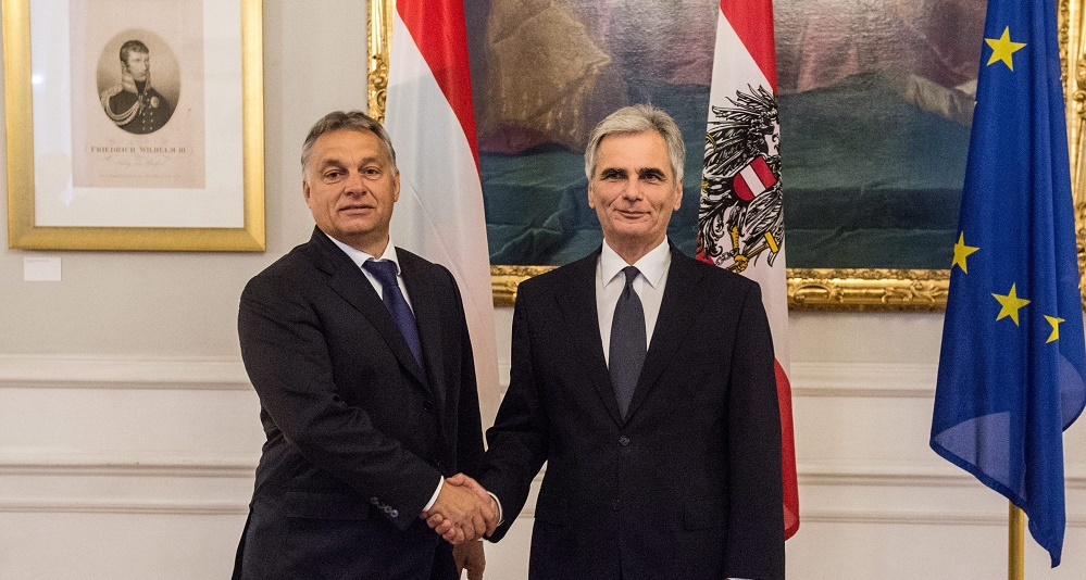 Common Affairs: Austria, Hungary Leaders Hold Difficult Talks On Immigration Crisis In Vienna – Video! post's picture