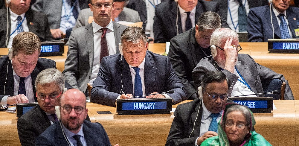 Gov't to Campaign for Hungarian UN General Assembly President post's picture