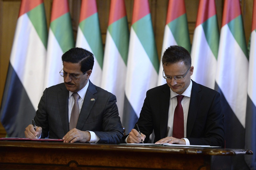 Hungary, United Arab Emirates Sign Economic Cooperation Deal post's picture