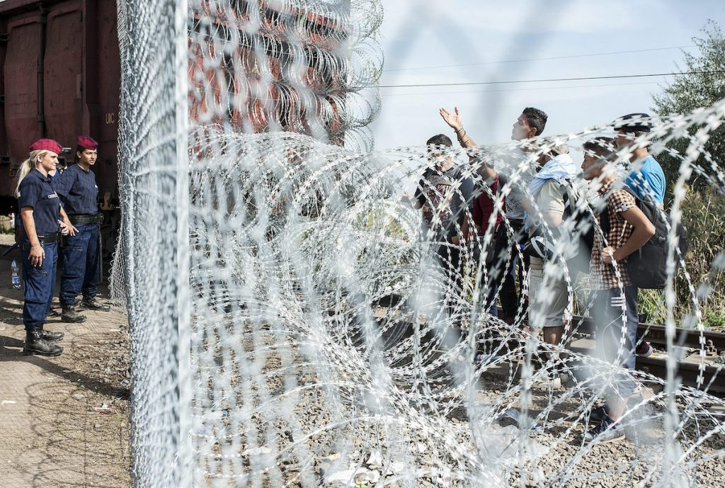 Immigration: Hungary To Build Fence On Romanian Border As Country Registers 96% Fall In Illegal Border Crossings From Monday Peak post's picture