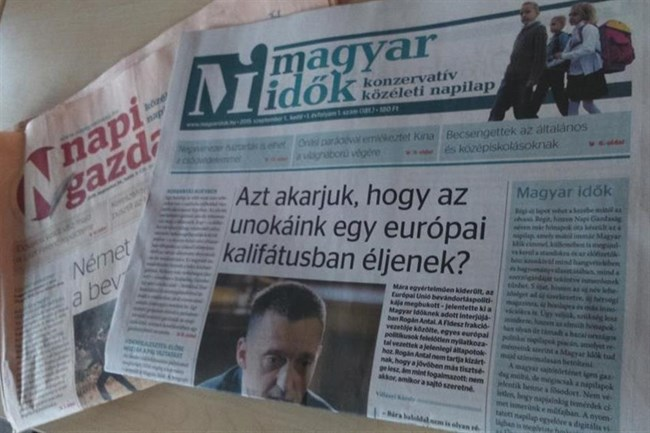 Magyar Idők: New Pro-Government Conservative Newspaper Launched post's picture
