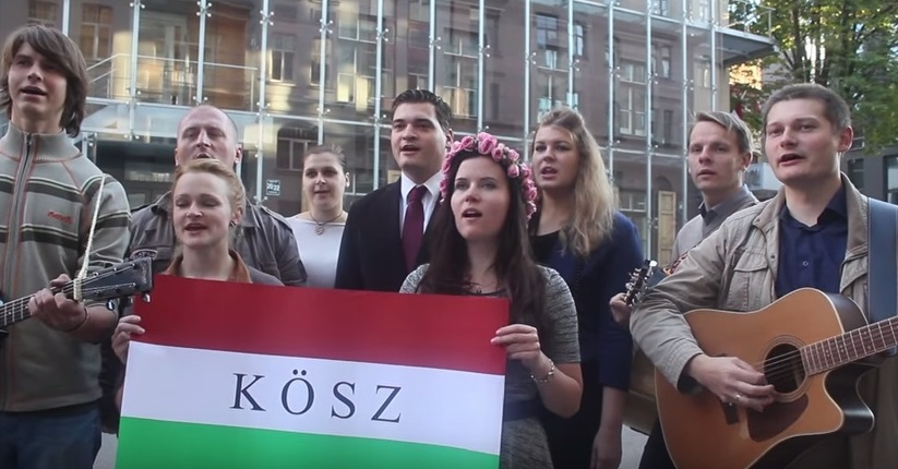 "Latvian Youths Pay Tribute To Hungary's ""Responsible"" Immigration Policy By Singing Famous Folk Song – Video! post's picture"