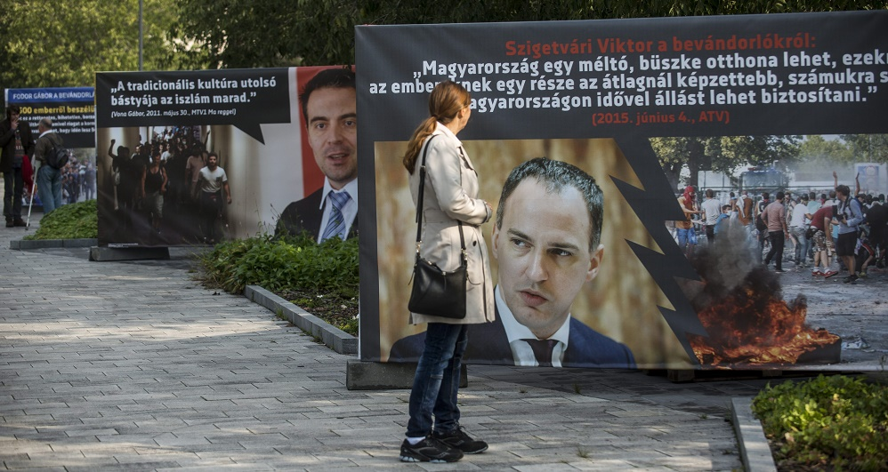 Migration Quotes: Hungarian Opposition Parties Slam Pro-Government Poster Exhibition post's picture
