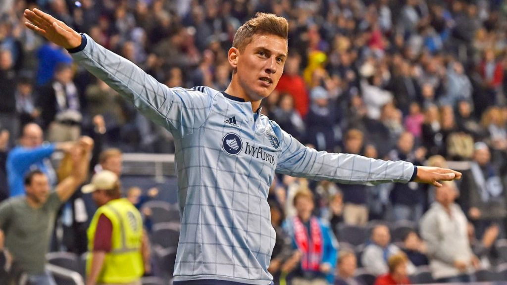 """Football: Hungarian Sporting KC Forward Németh Scores """"Goal Of The Year"""" Over Portland Timbers – Video! post's picture"""