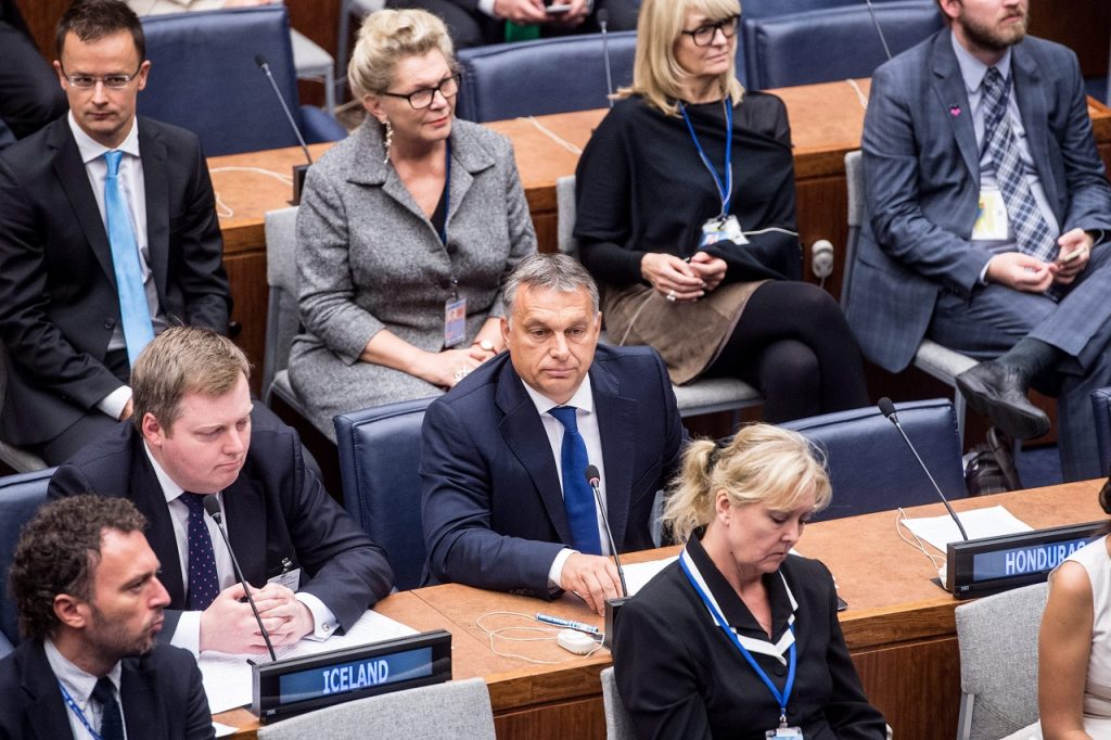 Hungarian PM Orbán At UN Summit: Migratory Movement Is Not A Refugee Crisis post's picture