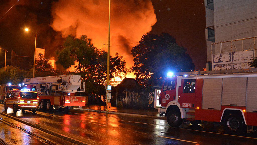 Budapest University Devastated By Massive Fire post's picture