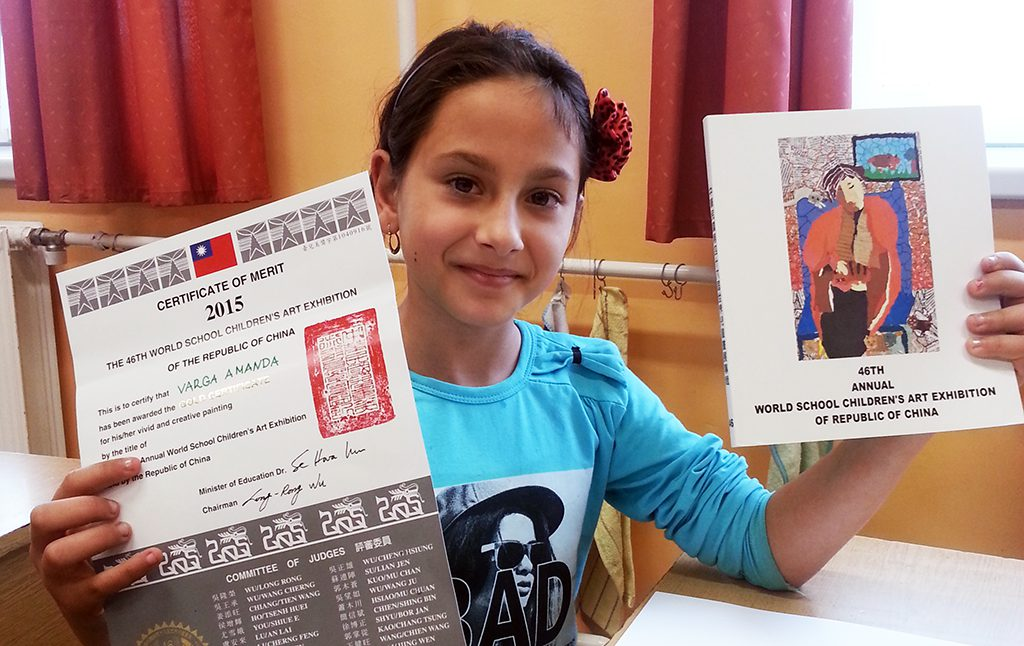 Disprivileged Hungarian Children's Drawings Selected Among The World's Best In China post's picture