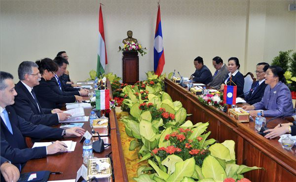 Hungary's House Speaker Discusses Developing Cooperation With Laos Under Eastern Opening Strategy post's picture