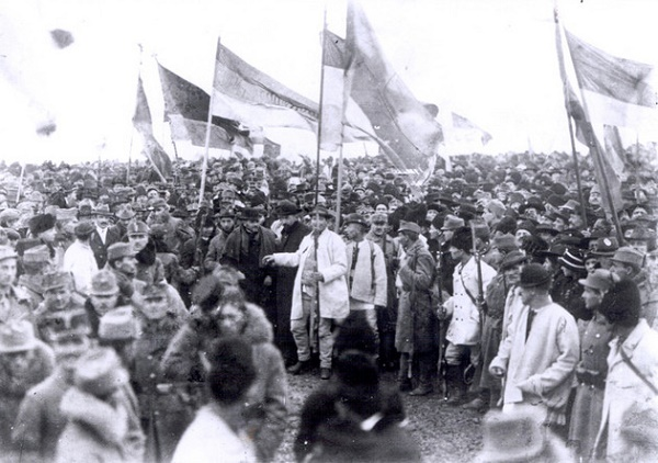 Assembly of the delegates of ethnic Romanians in Gyulafehérvár (Alba Iulia) in 1918