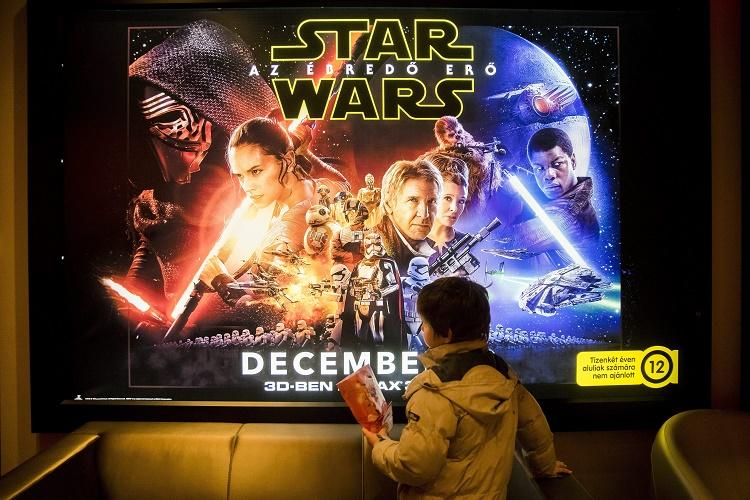 Az új Star Wars-film Magyarországon
