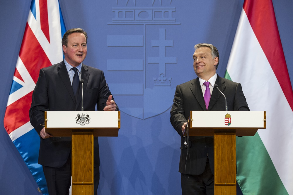 """""""Strong Europe"""": Orbán, Cameron Eye EU Reforms To Strengthen Role Of National Parliaments post's picture"""