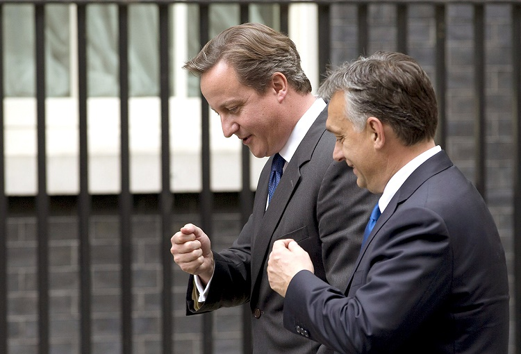 Brexit, EU Reforms And Migration On Agenda As Orbán, Cameron Hold Talks In Budapest post's picture
