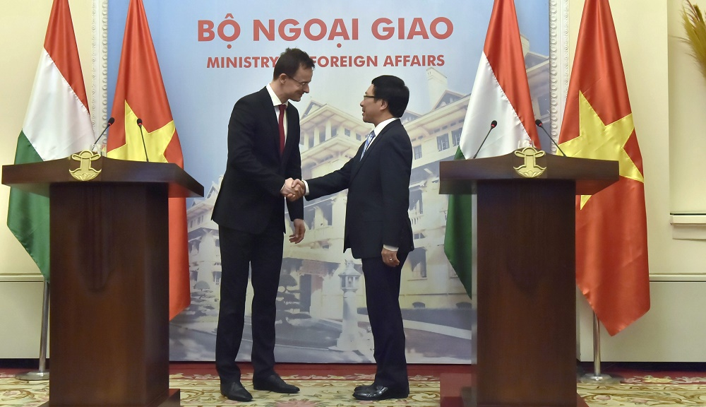 Hungary, Vietnam Enhance Cooperation As Foreign Minister Re-Opens Consulate General In Ho Chi Minh City post's picture
