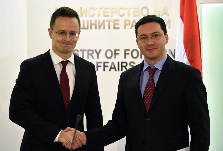 Szijjártó Péter; MITOV, Daniel