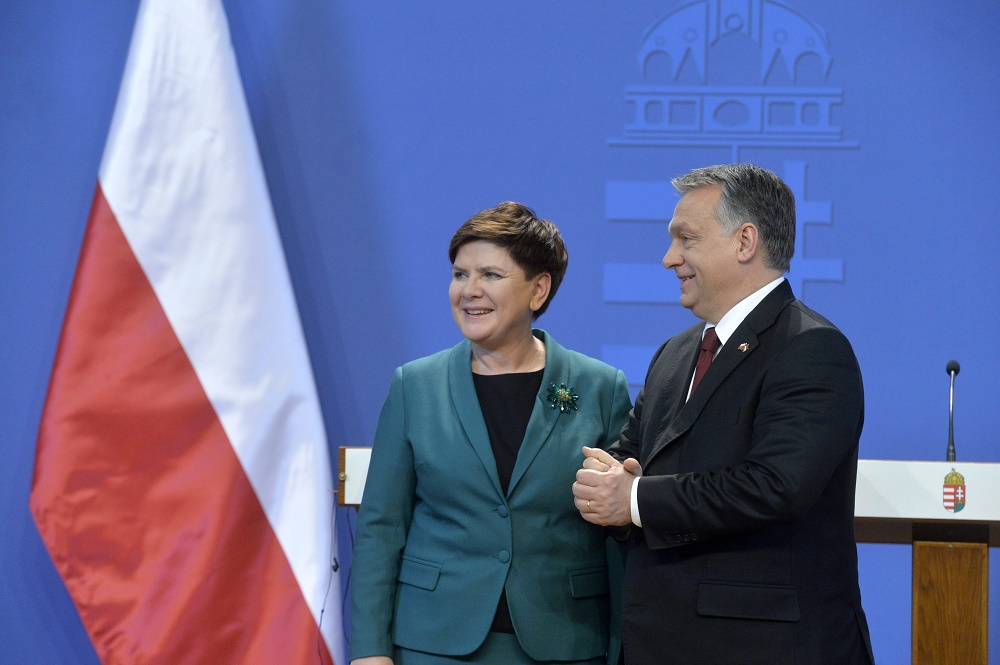 Hungary, Poland Agree To Strengthen Regional Cooperation As Premiers Hold Talks In Budapest post's picture