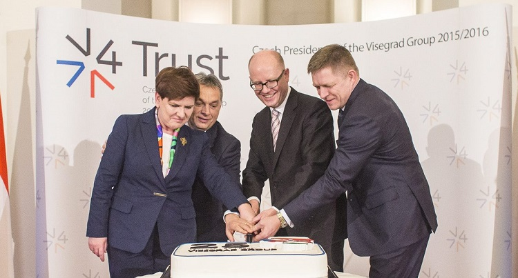 "Visegrad Group Urges ""Back-Up Plan"" To Protect Europe From Deepening Migrant Crisis post's picture"