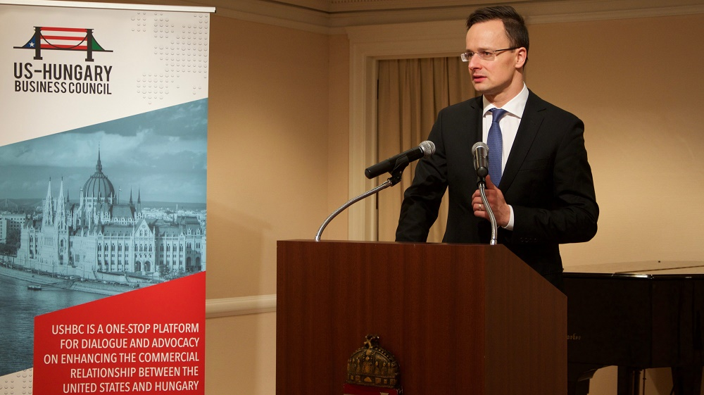 """Hungary's Foreign Minister Hails """"New Dimension"""" In Hungarian-American Relations post's picture"""
